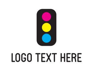Printing - Ink Light logo design