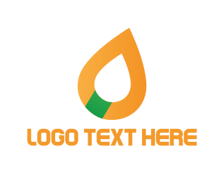 Gas Station - Oil Drop logo design