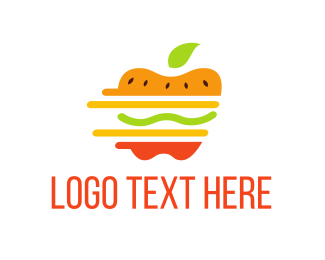 Burger - Healthy Fresh Burger logo design