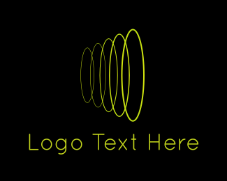 Loop - Sound Wave logo design