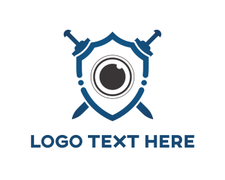 Safety - Lens Shield logo design