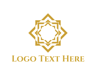 Bollywood - Gold Star logo design