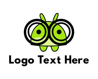 Hamster - Geek Hamster logo design