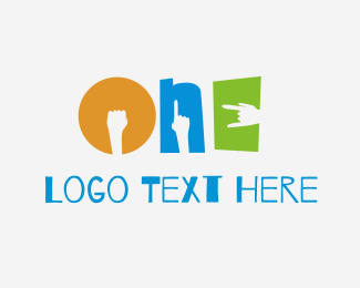 Three - Handy One logo design