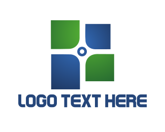 Religious - Tech Cross logo design