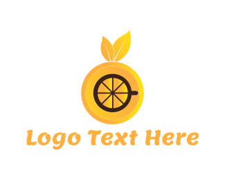 Juice Bar - Orange Drink logo design