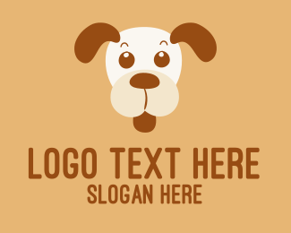 Personal - Colourful Dog  logo design