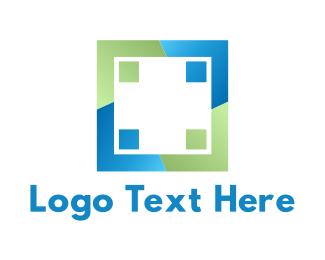 Medical Center - White Medical Cross logo design
