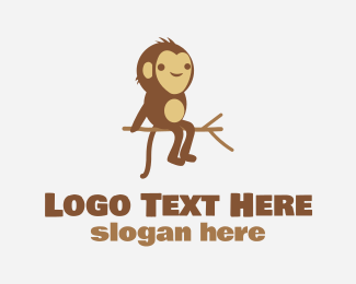 Monkey - Monkey Tree logo design