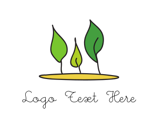 Three Leaves Logo