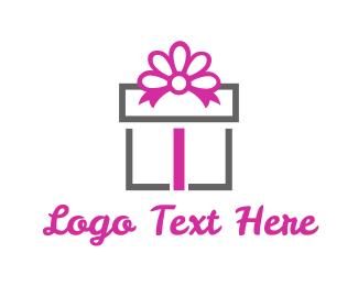 Celebration - Gift Box logo design