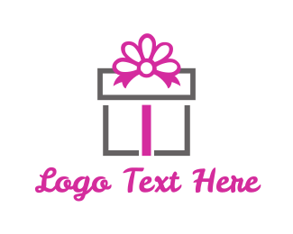 Celebration - Gift Box logo design