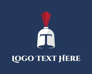 Armor - Trojan Helmet  logo design