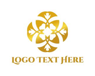 Concierge - Shiny Flower logo design