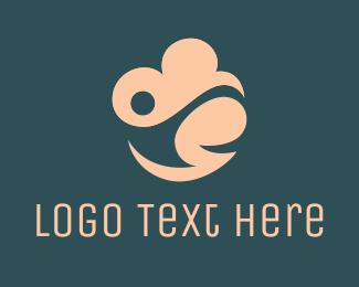 Storage - Black Clouds logo design