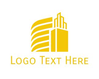 Broker - Golden City logo design