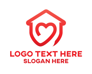 Icon - Love House logo design