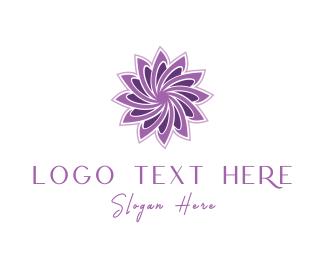 Violet - Violet Lotus logo design