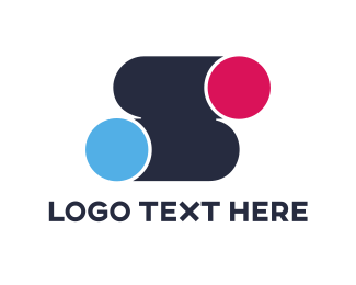 Printing - Dots S logo design