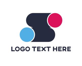 Movement - Dots S logo design