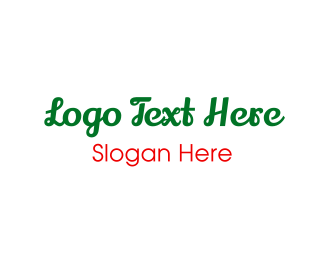 Mexican - Green & Cursive logo design