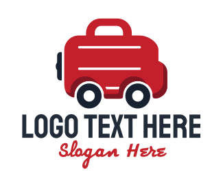 Transportation - Bag Van logo design