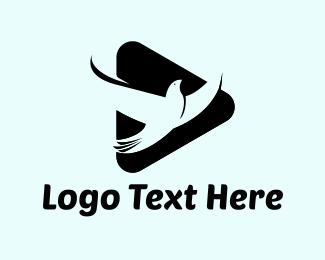 Pigeon - Pigeon Triangle logo design