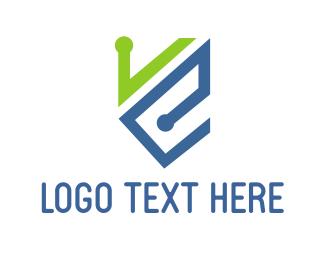 """V & E"" by LogoPick"