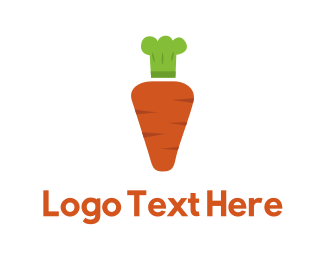 Cooking - Carrot Chef logo design