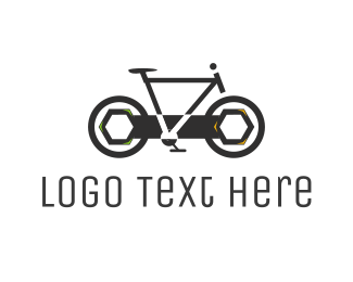Cycle - Wrench Bicycle logo design