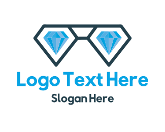 Fancy - Diamond Nerd logo design