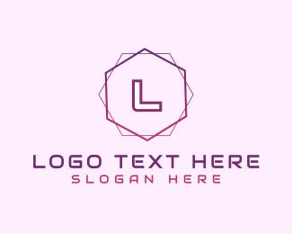 Lettermark - Minimalist Gradient Lettermark logo design
