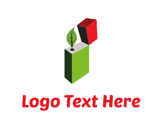 Marijuana - Leaf Lighter logo design