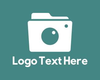 Aperture - Camera Folder logo design