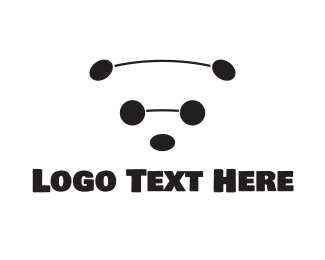 Black And White - Black & White Bear logo design