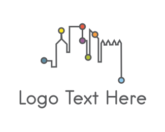 New York - City Network logo design