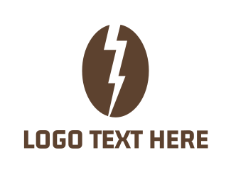 Energy - Electric Coffee logo design