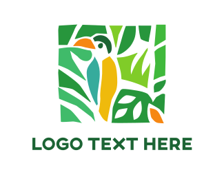 Cockatoo - Tropical Toucan logo design