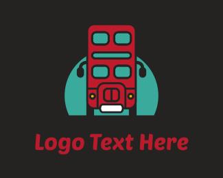 Robot - London Bus logo design