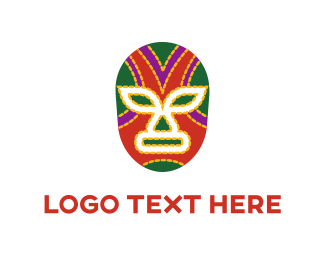 Mask - Mexican Mask logo design