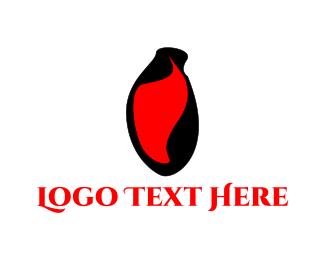Romantic - Abstract Heart logo design