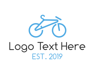 Cyclist - Peddle Store logo design