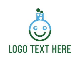 Lab - Smile Lab logo design