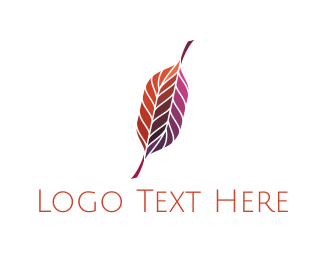 Plumage - Red Quill logo design