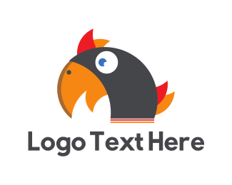 Toucan - Black Cockatoo logo design