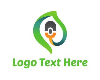 Hardware - Green Click logo design