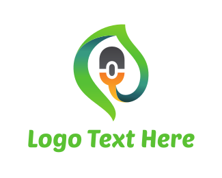 Hardware - Green Click logo design