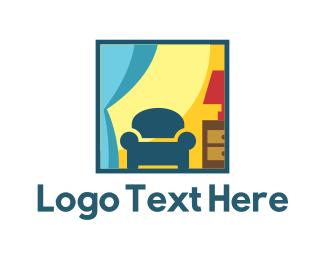Decoration - Furniture & Decor logo design