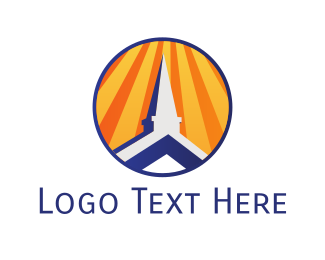 Roof - Church Roof logo design
