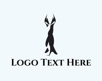Partner - Penguin Couple logo design